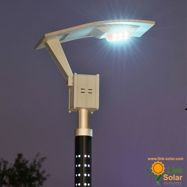 Solar powered led street light with auto intensity control ups solar lights mozeypictures Image collections