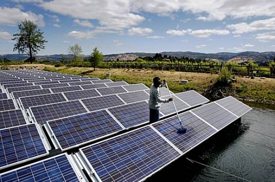 Solar Powered Auto Irrigation System News About Energy