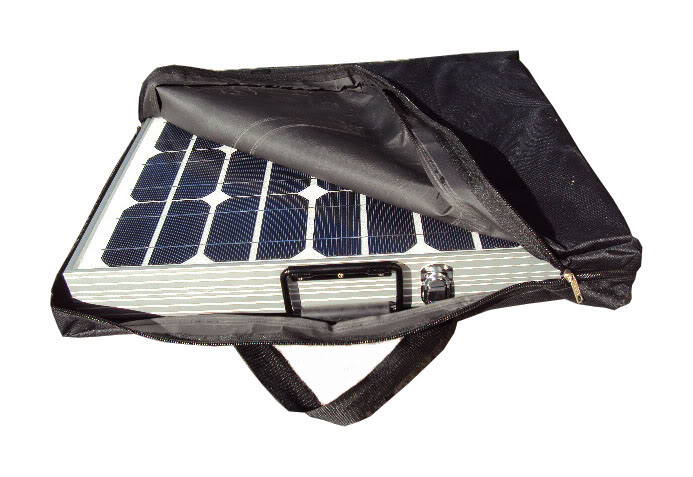 What are solar power kits?