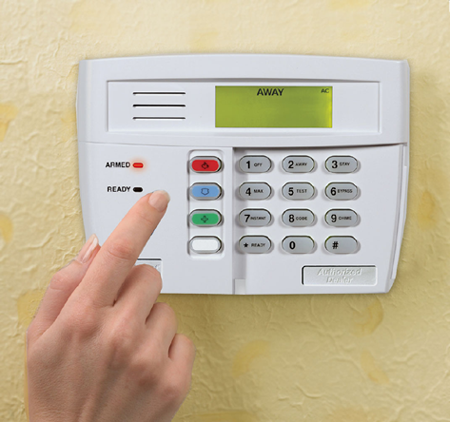 Home alarm system pictures.