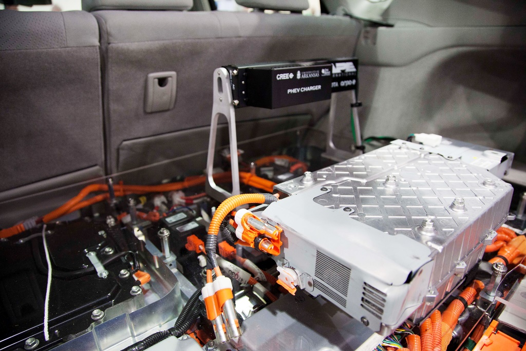 Toyota lithium battery fire