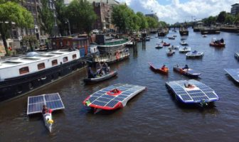 Boats at the Dutch Solar Competition