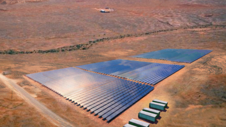 Large-Scale Solar Power Comes to Nowingi