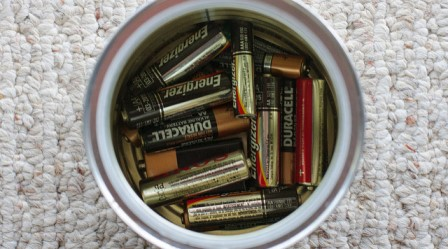 mix different brands of batteries