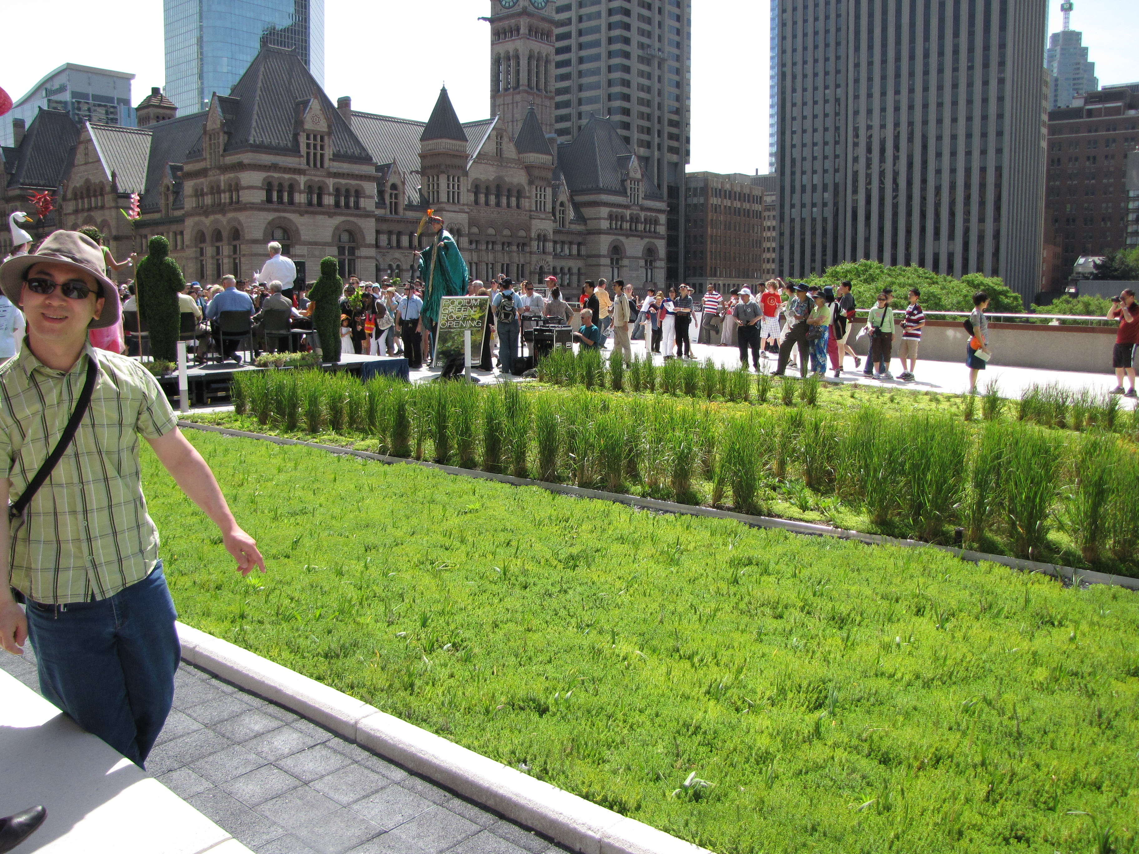 green roof in toronto essay Annual recognition of integrated design and installation, people, and organizational excellence with the green roof & wall awards of excellence.