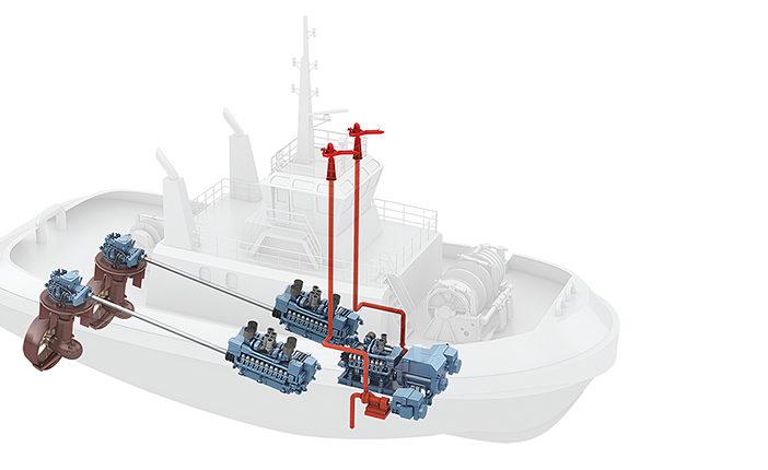 hybrid tug
