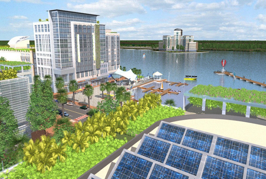 Solar City Florida >> Florida Town With A Different Tone Of Green News About Energy