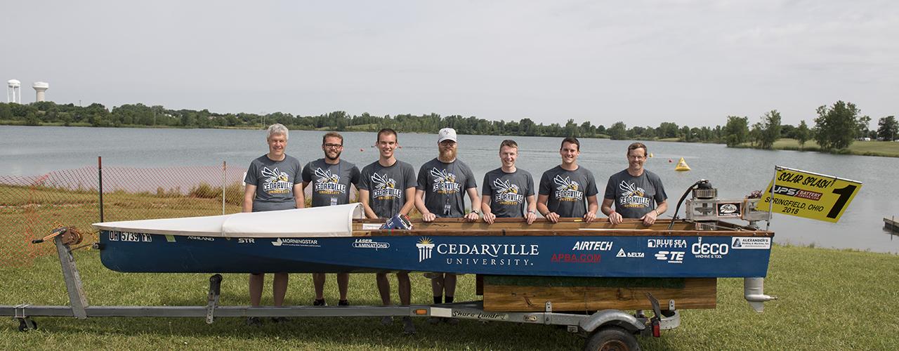 Cedarville University's 4th Win