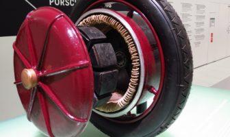 Dr Ferdinand Porsche Builds Electric Car