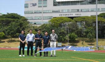 solar quadcopter