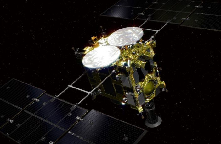 rovers bouncing on ryugu