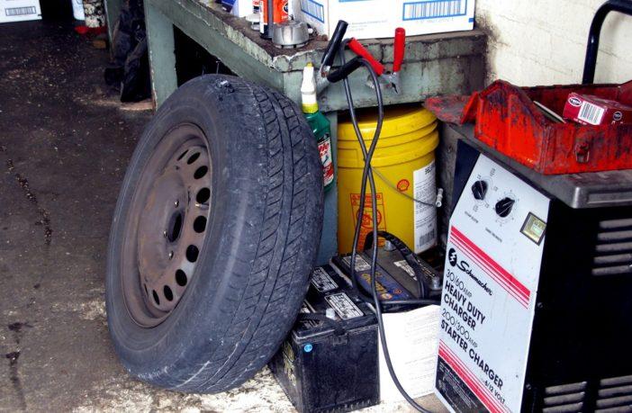 charging a starter battery