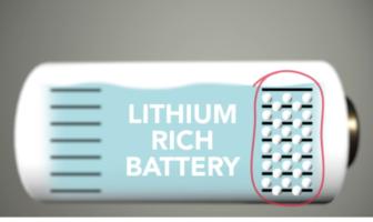 lithium rich batteries